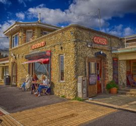 Coast Café, Worthing Seafront, Sussex.